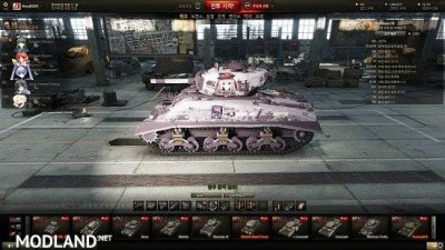 [BCSF] Sherman III [Tou no shita no exercitus] [Chloe Oudiaar] skin 0.0 [1.5.0.4], 1 photo
